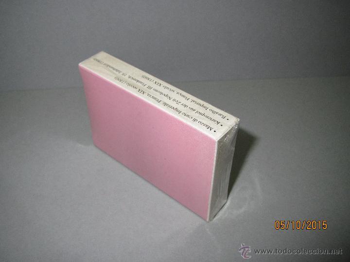 Barajas de cartas: Baraja de Naipes Colección FOURNIER - BARAJA IMPERIAL Francia Siglo XIX 1860 del Año 2004 - Foto 3 - 51655565