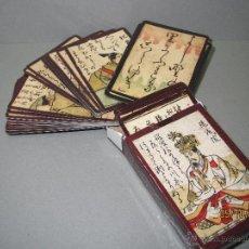 Barajas de cartas: BARAJA DE NAIPES COLECCIÓN FOURNIER - BARAJA HYAKUMIN JAPON SIGLO XVIII 1750 DEL AÑO 2004. Lote 51655629