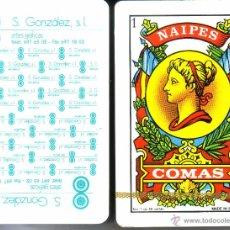 Barajas de cartas: S. GONZALEZ ARTES GRÁFICAS - BARAJA ESPAÑOLA 50 CARTAS. Lote 51670017