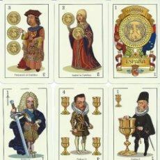 Barajas de cartas: BARAJA ESPAÑOLA DE LA MONARQUIA ESPAÑOLA -ASESCOIN-AÑO 2015-NOVEDAD. Lote 148784252