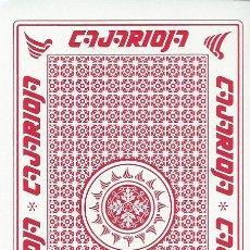 Barajas de cartas: BARAJA ESPAÑOLA PUBLICITARIA CAJA RIOJA(HOY BANKIA)FOURNIER. Lote 51707944