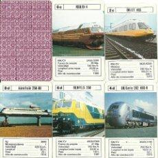 Jeux de cartes: LOCOMOTORAS. Lote 51739643