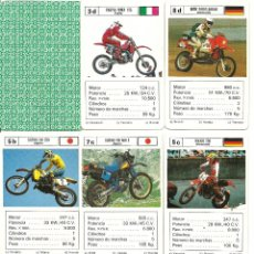 Jeux de cartes: MOTO CROSS. Lote 51739678