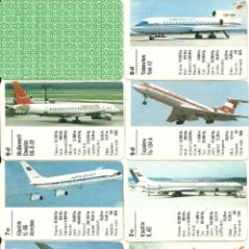 Barajas de cartas: AVIONES DE PASAJEROS. Lote 51739741