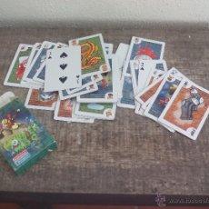 Barajas de cartas: BARAJA DE CARTAS DE TRUCOS DE MAGIA SQUEROSOS, DE FALOMIR JUEGOS, MONSTER MAGIC. Lote 51794689