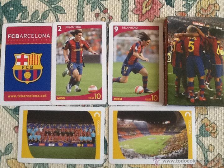 BARAJA FCB BARCELONA NUEVA (Juguetes y Juegos - Cartas y Naipes - Otras Barajas)