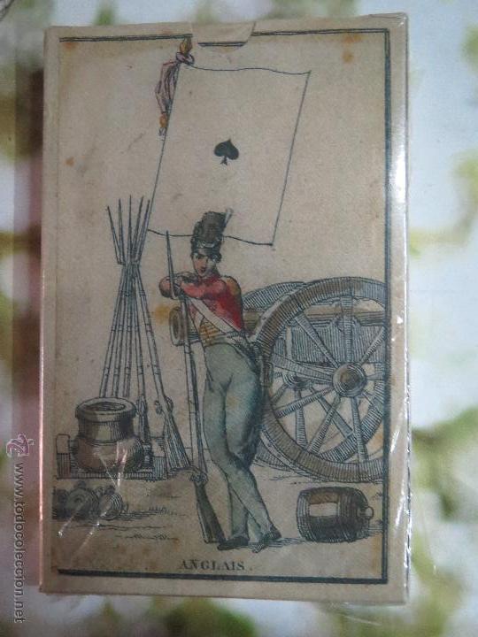 BARAJA DE LAS BANDERAS FRANCIA SIGLO XIX 1814.PRECINTADA (Juguetes y Juegos - Cartas y Naipes - Baraja Española)