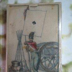 Barajas de cartas: BARAJA DE LAS BANDERAS FRANCIA SIGLO XIX 1814.PRECINTADA . Lote 52194142