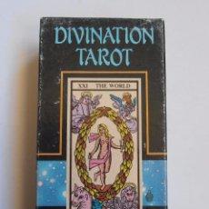 Barajas de cartas: BARAJA DE CARTAS DIVINATION TAROT NAIPES COMAS NEGSA COMPLETA 1988. Lote 52242221
