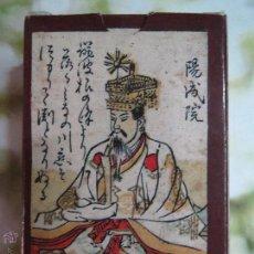 Barajas de cartas: BARAJA HYAKUNIN JAPON.SIGLO XVIII FASCIMIL.. Lote 52263121