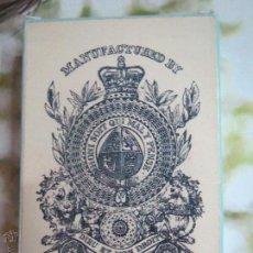 Barajas de cartas: BARAJA DE TRANSFORMACION ISLAS BRITANICAS 1860,FASCIMIL.. Lote 52271478