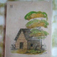 Barajas de cartas: BARAJA LA CABAÑA DEL TIO TOM EE.UU 1825 PRECINTADA,FASCIMIL.. Lote 52274634
