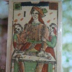 Barajas de cartas: BARAJA TAROT FLORENTINO ITALIA,1790,PRECINTADA,FASCIMIL.. Lote 52277262