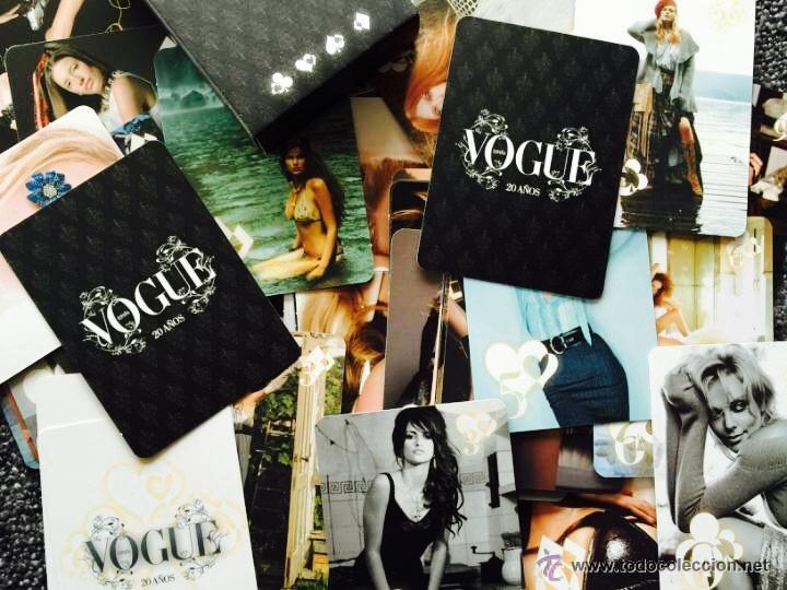 Barajas de cartas: Rara baraja de VOGUE con motivo de su 20 cumpleaños. Moda, fotografía, estilismo,modelos..famosas - Foto 4 - 48706743