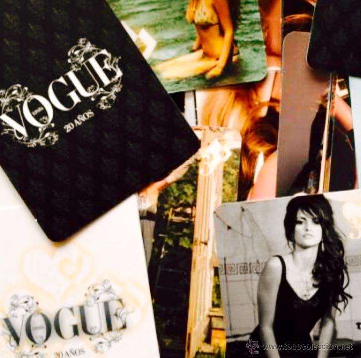 Barajas de cartas: Rara baraja de VOGUE con motivo de su 20 cumpleaños. Moda, fotografía, estilismo,modelos..famosas - Foto 5 - 48706743