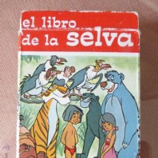 Barajas de cartas: ANTIGUA BARAJA INFANTIL CARTAS EL LIBRO DE LA SELVA-WALT DISNEY-FOURNIER ORIGINAL AÑO 1968-COMPLETA. Lote 156726098