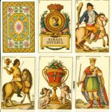 Barajas de cartas: BARAJA GOYESCA. Lote 134505007