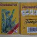 Barajas de cartas: BARAJA INFANTIL. FOURNIER. DINOSAURIOS DINOSAURIO. PRECINTADA. Lote 159380402