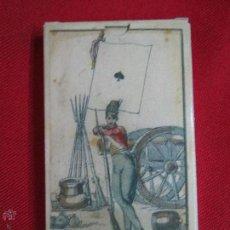 Barajas de cartas: BARAJA DE LAS BANDERAS FRANCIA SIGLO XIX 1814.. Lote 52414633