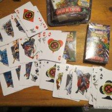 Barajas de cartas: BARAJA DE POKER MARVEL HEROES JUEGO DE CARTAS GIOCHI PRECIOSI 2004. Lote 52437729