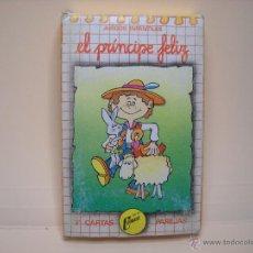 Barajas de cartas: BARAJA DE CARTAS EL PRINCIPE FELIZ - NAIPES COMAS. Lote 52461799
