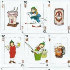Barajas de cartas: BARAJA ESPAÑOLA CERVEZAS CRUZCAMPO-FOURNIER-AÑO 1992. Lote 148569148