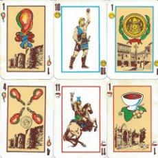 Barajas de cartas: BARAJA ESPAÑOLA XOGO GALEGO-SERIGRAFIA GALEGA-AÑO 1975. Lote 62220186