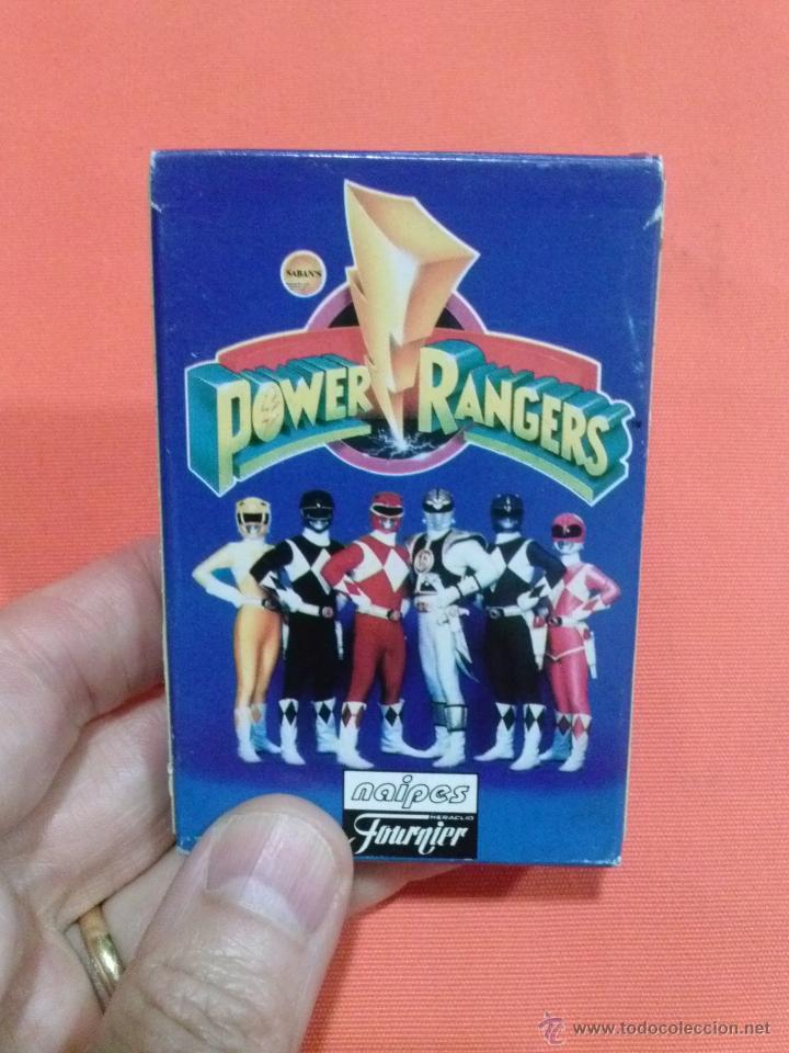 BARAJA DE CARTAS POWER RANGERS COMPLETA (Juguetes y Juegos - Cartas y Naipes - Otras Barajas)