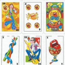 Barajas de cartas: BARAJA ESPAÑOLA LOS STONES-AÑO 2001. Lote 103390894