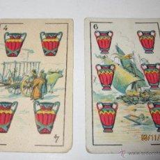 Barajas de cartas: ANTIGUOS NAIPES DE DON QUIJOTE DE CHOCOLATES EDUARDO PI DE BARCELONA. Lote 52641846