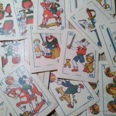 Barajas de cartas: 2 BARAJAS.!!!!...MINI BARAJA INFANTIL ANTIGUA AÑOS 30 - JUEGO DE NAIPES , 6 X 4,4 CM..INCOMPLETAS. Lote 52736978