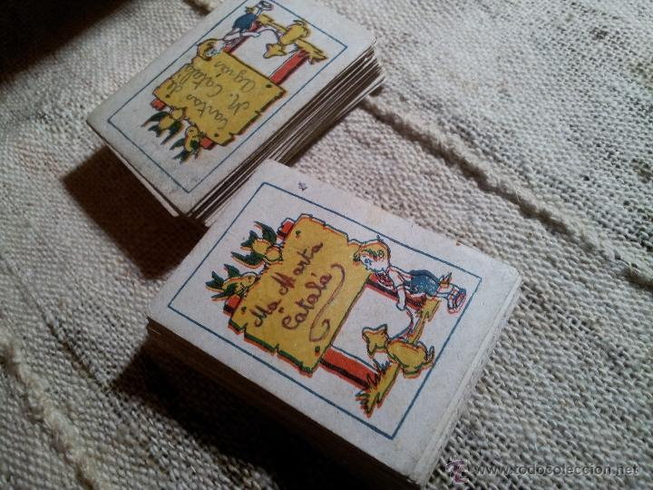 Barajas de cartas: 2 barajas.!!!!...MINI BARAJA INFANTIL ANTIGUA AÑOS 30 - JUEGO DE NAIPES , 6 X 4,4 cm..incompletas - Foto 16 - 52736978