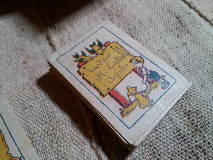 Barajas de cartas: 2 barajas.!!!!...MINI BARAJA INFANTIL ANTIGUA AÑOS 30 - JUEGO DE NAIPES , 6 X 4,4 cm..incompletas - Foto 17 - 52736978