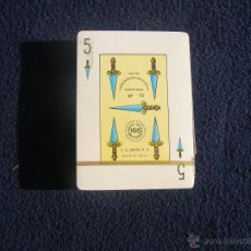 Barajas de cartas: BARAJA COMAS TIPO ESPAÑOL HOMENAJE AL MUNDIAL DE FUTBOL ESPAÑA VER REVERSO CXJN 1. Lote 52755699