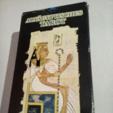 Barajas de cartas: ALTAGYPTISCHES TAROT TAROT EGIPCIO MADE IN ITALY. Lote 52760237