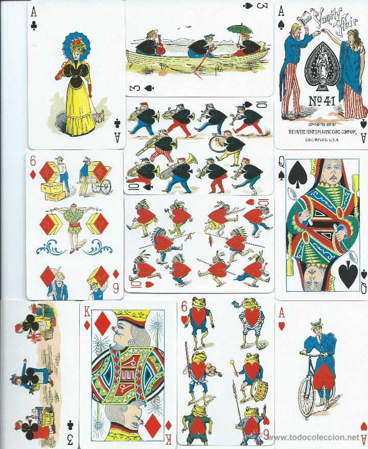 2 BARAJAS YANIITY FAIR DE FOURNIER-AÑO 1998-VER FOTOS (Juguetes y Juegos - Cartas y Naipes - Baraja Española)