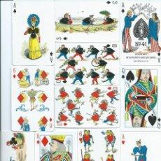 Barajas de cartas: 2 BARAJAS YANIITY FAIR DE FOURNIER-AÑO 1998-VER FOTOS. Lote 52828062