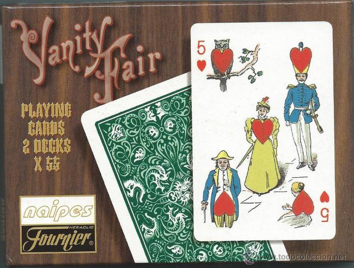 Barajas de cartas: 2 BARAJAS YANIITY FAIR DE FOURNIER-AÑO 1998-VER FOTOS - Foto 2 - 52828062