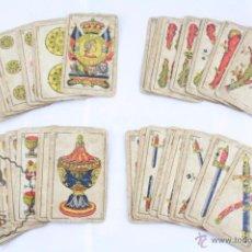 Barajas de cartas: ANTIGUA BARAJA ESPAÑOLA DE CARTAS - VIUDA E HIJOS DE H. FOURNIER - AÑOS 30-40. Lote 52860494