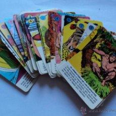Barajas de cartas: BARAJA CARTAS FOURNIER TARZAN COMPLETA. Lote 110735490