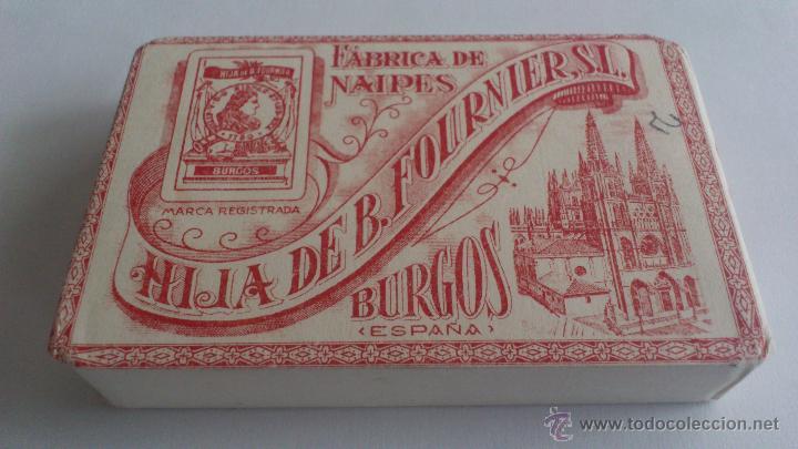 BARAJA DE CARTAS - NAIPE FRANCES, HIJA DE B. FOURNIER, S.L. BURGOS, SIN ABRIR (Juguetes y Juegos - Cartas y Naipes - Baraja Española)