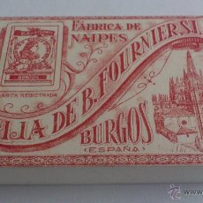 Barajas de cartas: BARAJA DE CARTAS - NAIPE FRANCES, HIJA DE B. FOURNIER, S.L. BURGOS, SIN ABRIR. Lote 52930768