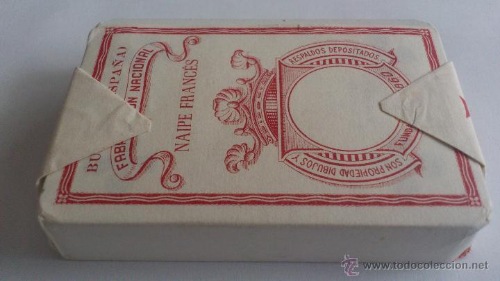 Barajas de cartas: BARAJA DE CARTAS - NAIPE FRANCES, HIJA DE B. FOURNIER, S.L. BURGOS, SIN ABRIR - Foto 2 - 52930768