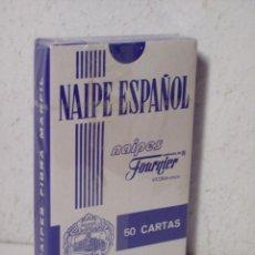 Barajas de cartas: BARAJA DE CARTAS FOURNIER (NAIPE ESPAÑOL) PUBLICIDAD OCASO - NUEVAS (PRECINTADAS). Lote 52953990
