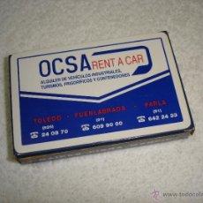 Barajas de cartas: BARAJA CARTAS, HERACLIO FOURNIER - OCSA (ALQUILER DE VEHICULOS). 50 NAIPES. Lote 53019868