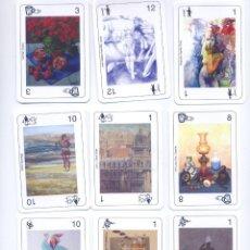 Barajas de cartas: BARAJA ESPAÑOLA DE ARTISTAS Y ESCULTORES ESPAÑOLES. Lote 53206187