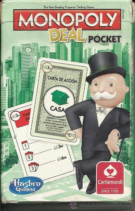 BARAJA MONOPOLY COMPLETA 54 CARTAS (Juguetes y Juegos - Cartas y Naipes - Otras Barajas)