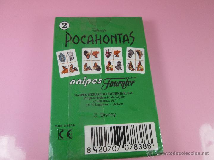 Barajas de cartas: (C)-BARAJA/CARTAS/NAIPES-HERACLIO FOURNIER-POCAHONTAS 2-DISNEY-NUEVA-ANTIGUA-PRECINTADA-VER FOTOS - Foto 4 - 53300022