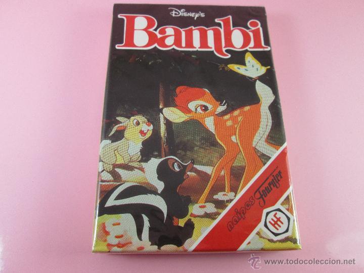 Barajas de cartas: (C)-BARAJA-HERACLIO FOURNIER-BAMBY-DISNEY-NUEVA-ANTIGUA-PRECINTADA-VER FOTOS - Foto 2 - 53309383