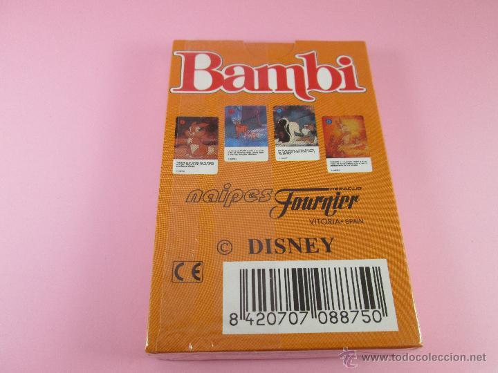 Barajas de cartas: (C)-BARAJA-HERACLIO FOURNIER-BAMBY-DISNEY-NUEVA-ANTIGUA-PRECINTADA-VER FOTOS - Foto 5 - 53309383